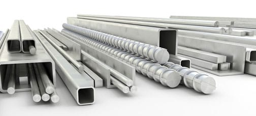 Metal materials used in fabrication